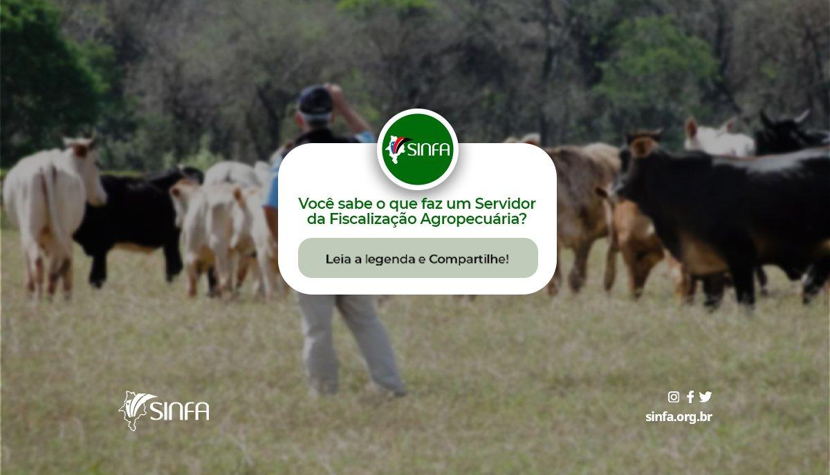 Você sabe o que faz um Servidor da Fiscalização Agropecuária